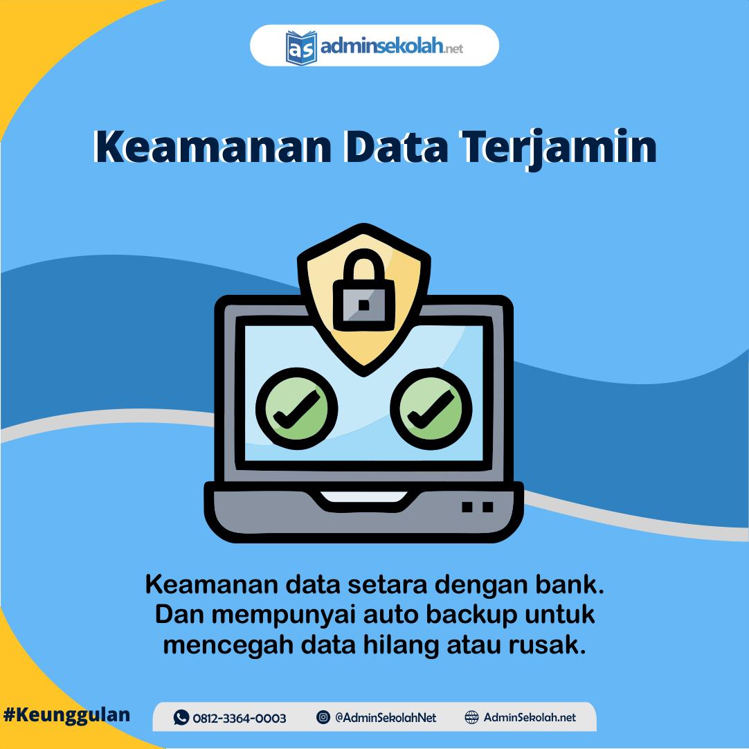#Keunggulan Adminsekolah.net!!! Keamanan Data Terjamin