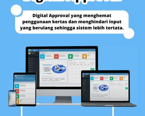 #Keunggulan Adminsekolah.net ! Digital Approval !