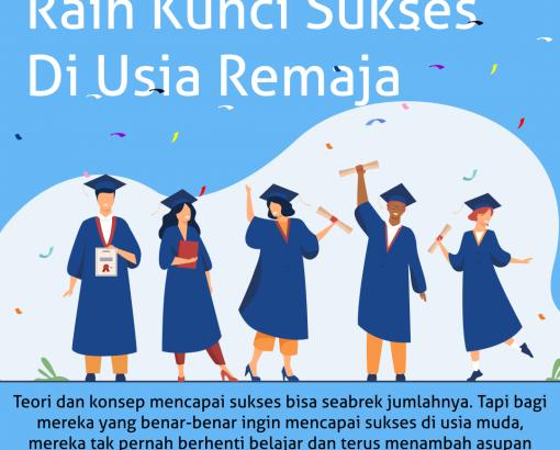 #Tips by Adminsekolah.net ! Raih Kunci Sukses Di Usia Remaja !