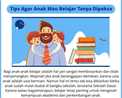 #Tips Adminsekolah.net ! Tips Agar Anak Mau Belajar Tanpa Dipaksa !