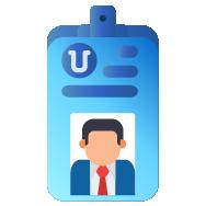 Cetak ID Card Pegawai Otomatis