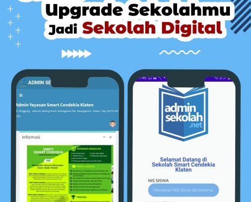 Sekolah Digital Pertama Di Klaten ! Smart Cendekia Klaten !