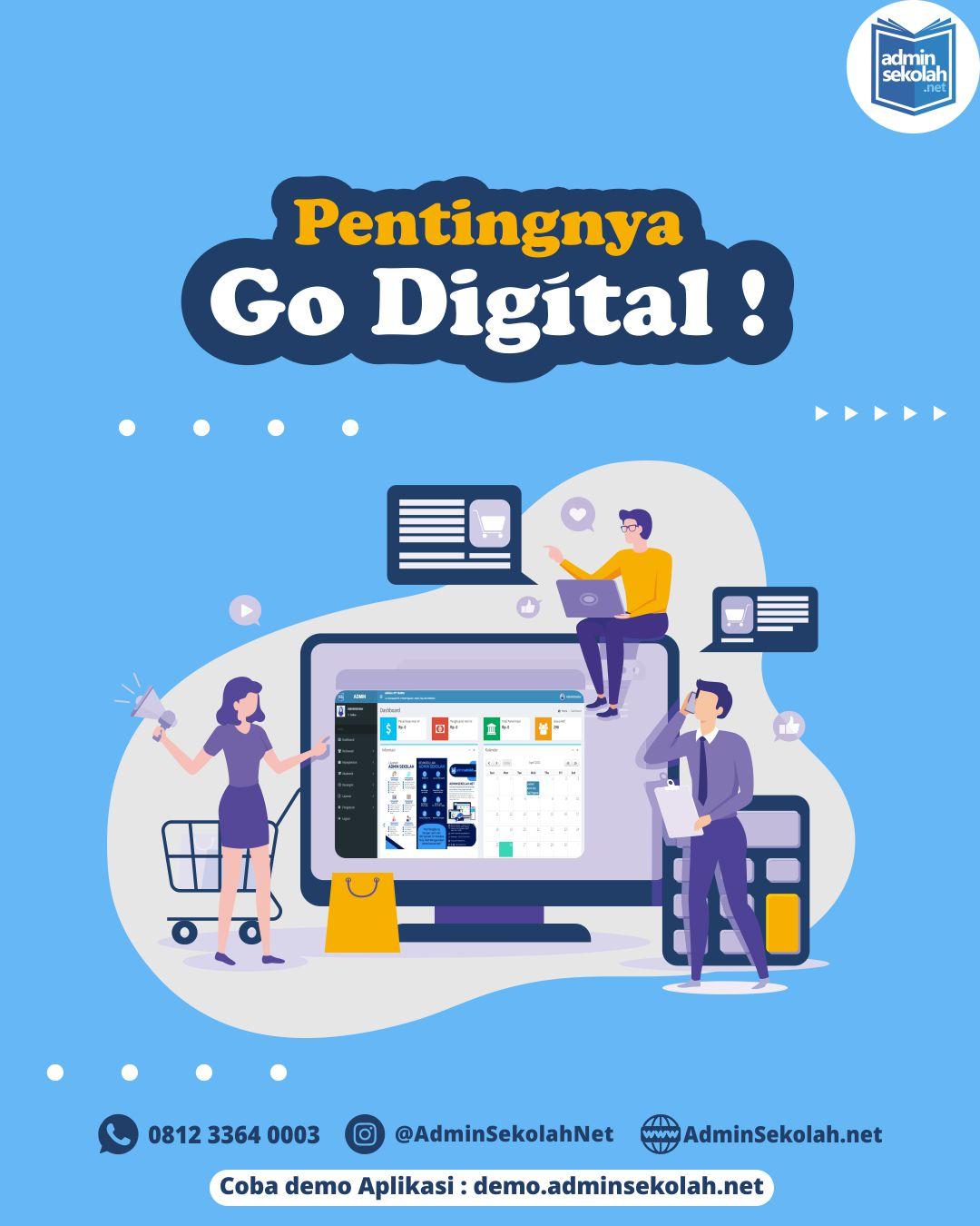 Pentingnya Go Digital !