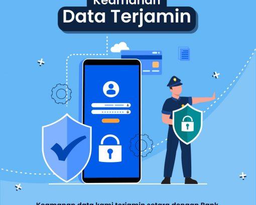 Keamanan Data Terjamin